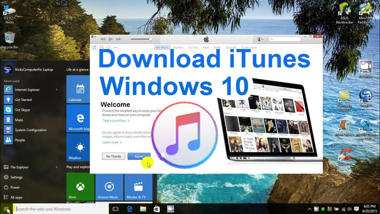 Which Itunes Download For Windows 10