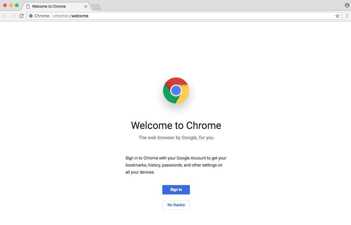 Google Chrome Web Browser For Mac