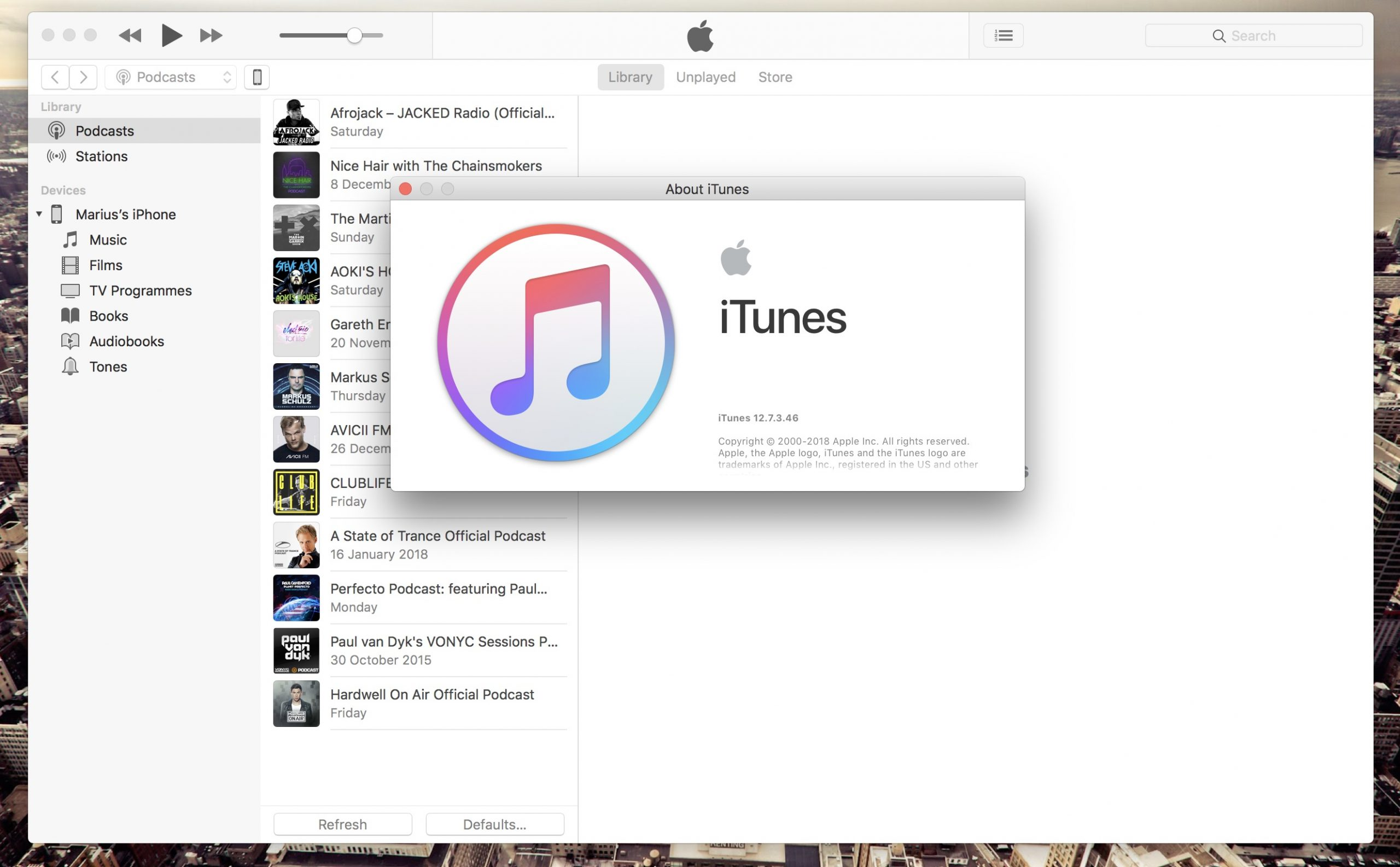 Download Itunes 12.7.3