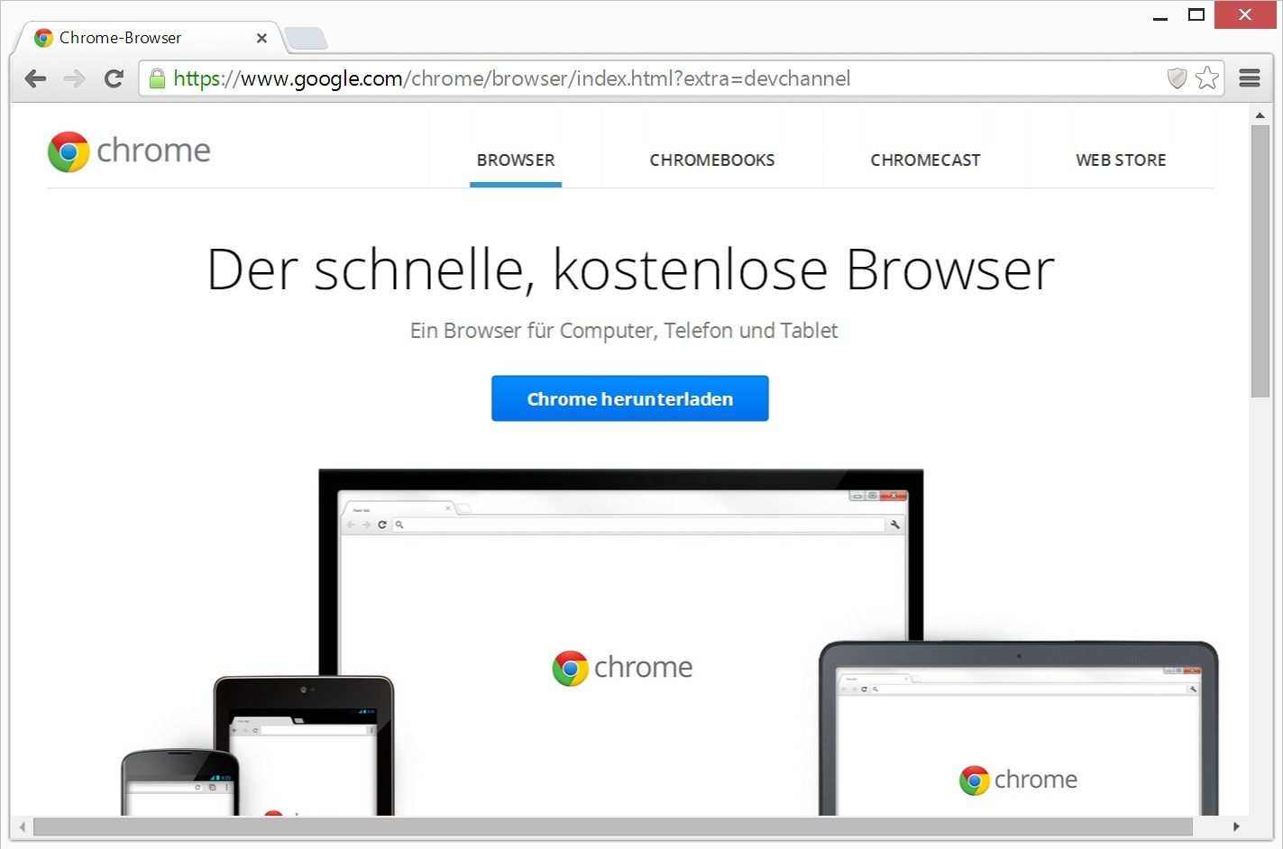 Google Chrome Download Deutsch