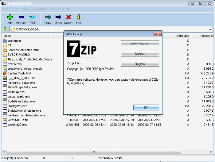 7 Zip For Windows 7 Free File Archiver With A High