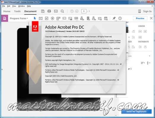 Adobe Acrobat Pro DC 2017 Free Download Full Version