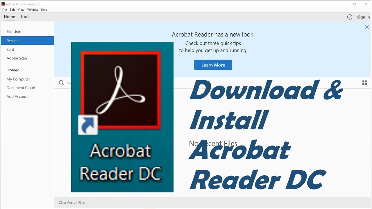 How To Download And Install Adobe Acrobat Reader DC For