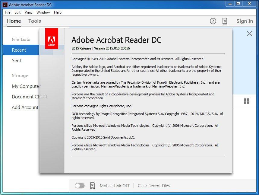 Adobe Acrobat Reader 2015 Download