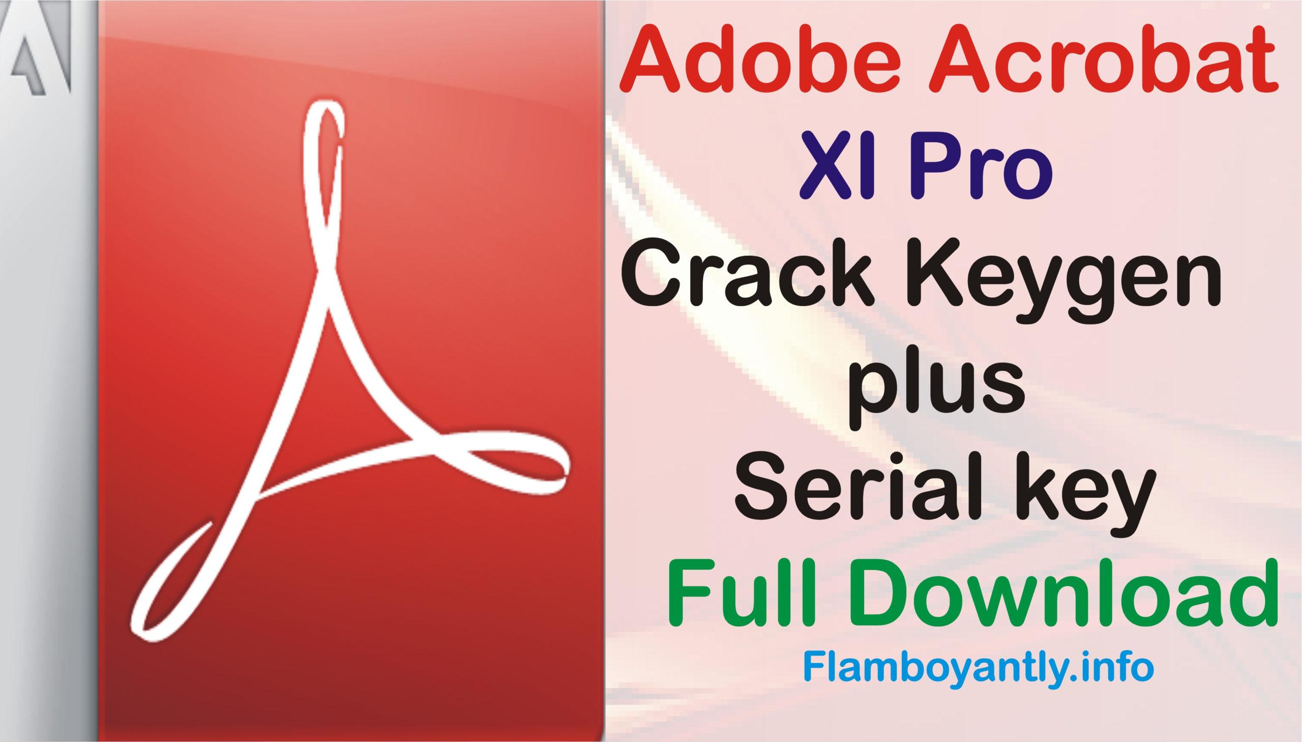 Adobe Acrobat Xi Download