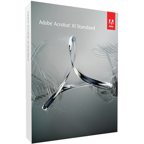 Adobe Acrobat XI Standard For Windows Download 65208261 B H