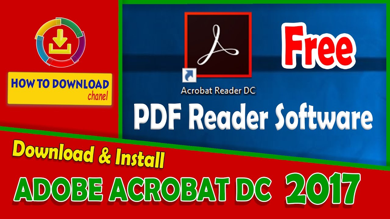 Download Adobe Acrobat Dc For Windows