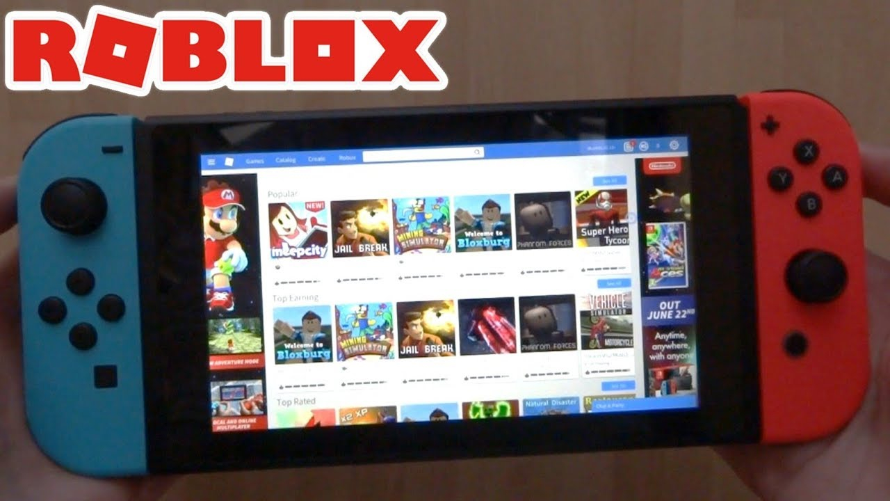 How Do You Download Roblox On Nintendo Switch