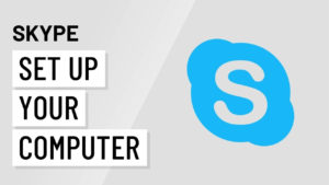 Skype Setting Up Your Computer For Skype YouTube