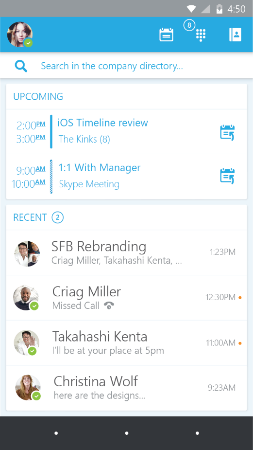 Skype For Business Android App Download