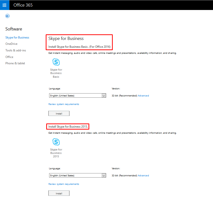 Skype For Business Basic Download
