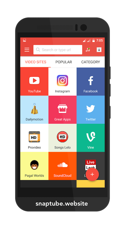 SnapTube Free Music Video Downloader App 2020