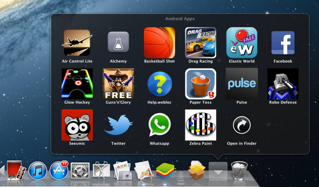 BlueStacks App Player For Mac Download