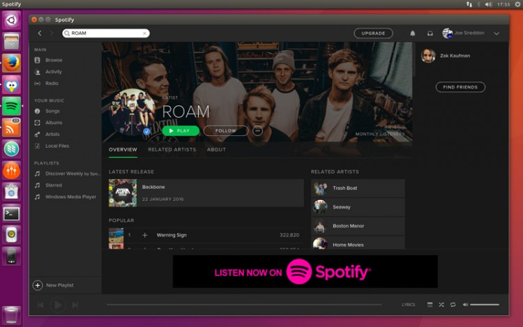 Spotify Download Linux