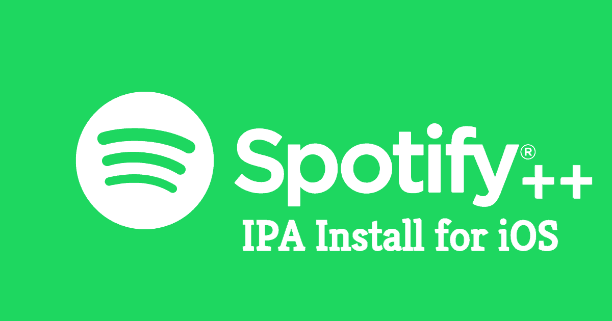 Download Install Spotify IPA On IOS Mac Without