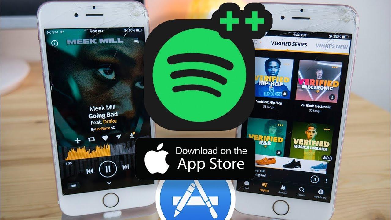 Tweaked Apps On Appstore Spotify Plus Alternative IOS