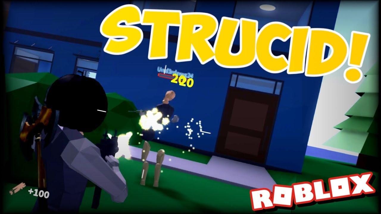 NEW ROBLOX FORTNITE GAME Strucid On Roblox 1 YouTube