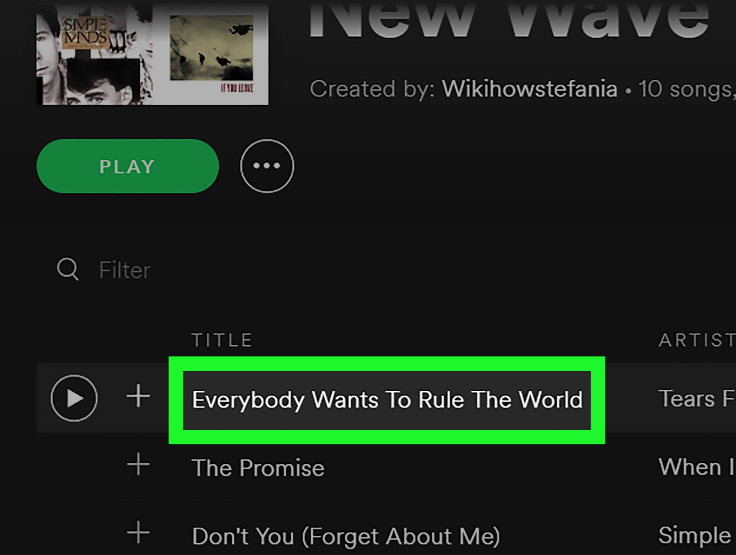 Where Is The Download Button On Spotify