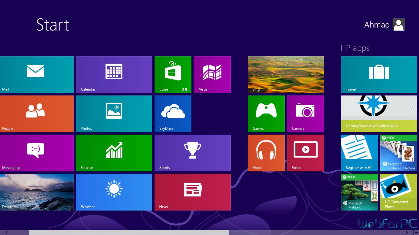 Windows 8 Free Download 32 Bit 64 Bit ISO Web For PC