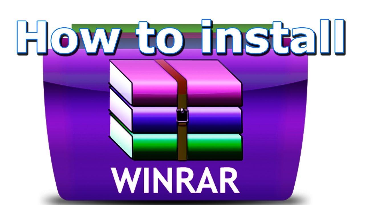 How To Install Winrar New Version 86 Bit 64 Bit Free